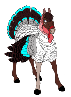 Light Cyan Turkey