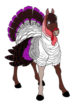 Dark Purple Turkey