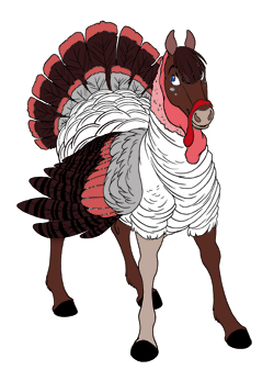 Light Red Turkey